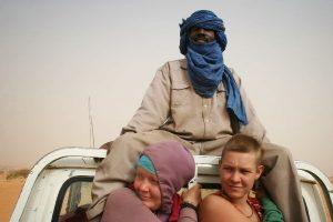 autostoppeuses en Mauritanie