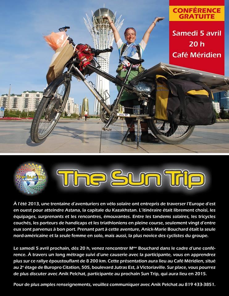 Conférence SunTrip Victoriaville