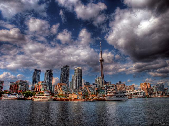 Toronto à Winnipeg et sortie des villes