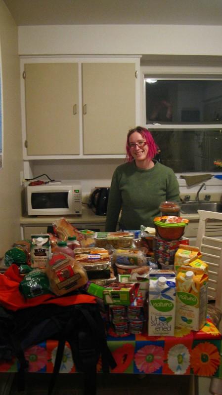 Anick-Marie et son glanage urbain