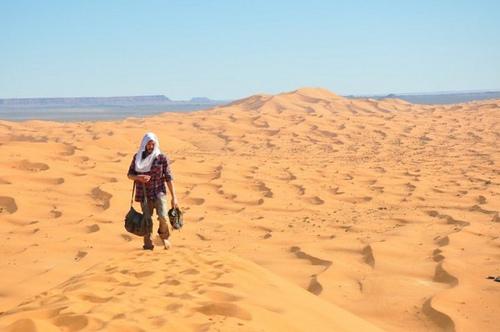 Retraite au Sahara pour les junkies de la route