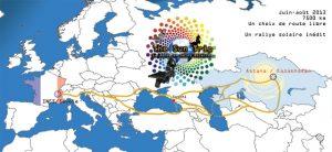 The SunTrip : Le monde en vélo solaire