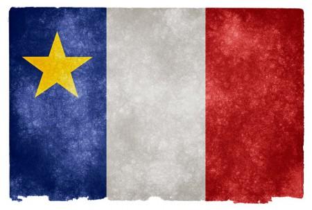 Drapeau Acadie