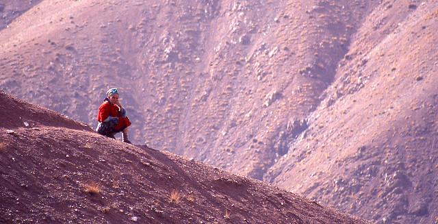 Femme berbère au Maroc