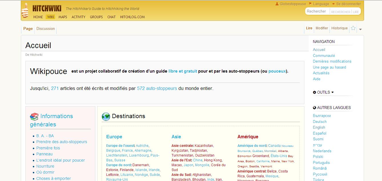 L'auto-stop sur le Web : portails, wikis et forums