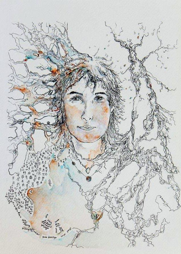 Isabelle-autoportrait