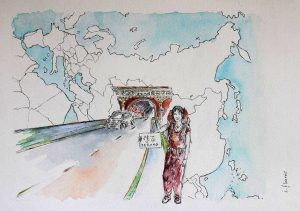 Autostoppeuses Fantastiques : Isabelle Flourac d'Encres Nomades