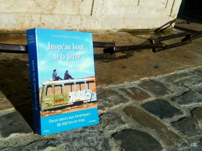 photo du livre jusqu'au bout de la terre de Marion et Amélie Laurin