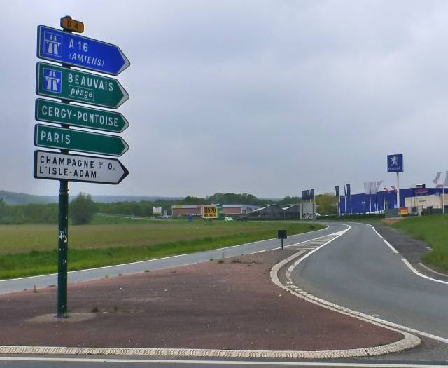 route Beauvais auto-stop