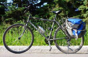 Vélo : Solange et moi