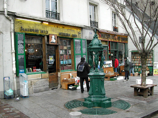 Librairie Shakespeare and Company: Institution de la vie vagabonde Parisienne