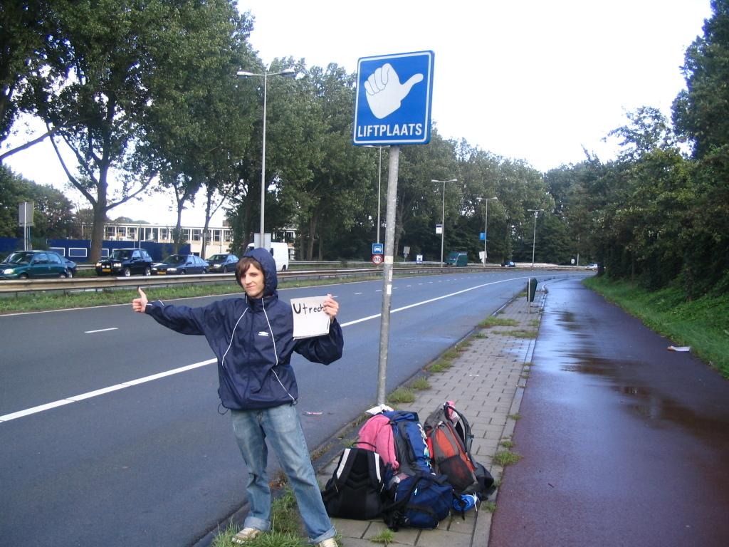 Liftplaats et Liftershalte – Pays Bas – Panneaux d'auto-stop