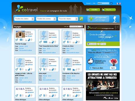 Cotravel : trouver des partenaires de voyage