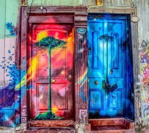 La clé dans la porte