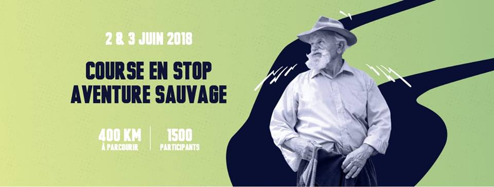 Course en stop sauvage - logo et dates de la course d'auto-stop Madjacques en France