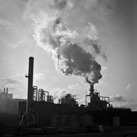 Raffineries de la banlieue de Porto